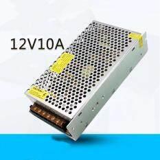 ราคา Switching Power Supply สวิตชิ่งเพาเวอร์ซัพพลาย 12V 10A 120W สีเงิน Unbranded Generic ใหม่