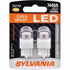 ราคา Sylvania Zevo 7440A Super Bright Amber Wy21W เป็นต้นฉบับ Sylvania