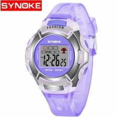 ราคา Synoke Children Luminous Waterproof Sports Watch 99329 Intl ใน จีน