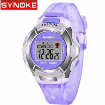 Synoke Children Luminous Waterproof Sports Watch 99329 - intl