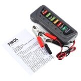 ขาย T16897 12V Digital Battery Alternator Tester With 6 Led Lights Display Car Vehicle Diagnostic Tool Intl จีน ถูก