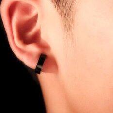 ขาย ต่างหู จิว จิล 1 คู่ ไม่ต้องเจาหู ต่างหูสีดำ ต่างหูหนีบ ต่างหูห่วง Unbranded Generic เป็นต้นฉบับ