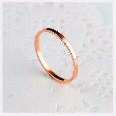 ซื้อ Tanittgemsแหวนนากเกลี้ยงหน้ากว้าง2มม ใน กรุงเทพมหานคร