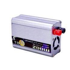ขาย Tbe Dc 12V To Ac 220V แปลงไฟแบบพกพา กำลังไฟ รุ่น T 200W Power Inverter Unbranded Generic เป็นต้นฉบับ