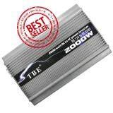 ขาย Tbe Inverter 2000 Watt With Special Usb Silver ราคาถูกที่สุด