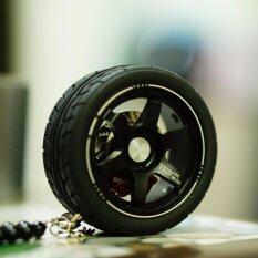 ส่วนลด น้ำหอมรถยนต์ พวงกุญแจ ล้อแม็ค Te37 สวยเท่ห์ มีสไตล์ สีดุดำ G ใน Thailand