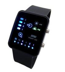 ทบทวน ความรู้คู่กีฬาเทคโนโลยีนำดิจิตอลหน้าจอสัมผัสนาฬิกาข้อมือสีดำ Landfox