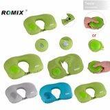 ซื้อ Tesia Romix หมอน พกพา Portable Folding U Neck Pillow For Travel Flight Car Office Inflatable Pillows Neck Rest Air Cushion Comfortable Rh34 ถูก ใน กรุงเทพมหานคร