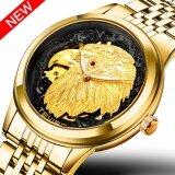 ราคา Tevise นาฬิกาอัตโนมัตินกอินทรีย์ผู้ชายแฟชั่นกันน้ำกีฬาธุรกิจเครื่องกลนาฬิกาทองนาฬิกา Automatico Relogio Masculino 9006 นานาชาติ ออนไลน์