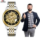 ทบทวน Tevise Luxury Dragon Dial Brand Watch Mechanical Watch Men Business Wristwatches Automatic Watches Men Clock Relogio Masculino 9006 Intl