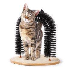 Thaivasion ของเล่นแมว ประตูแปรงช่วยนวดเพื่อผ่อนคลายและลดปริมาณขนร่วง
