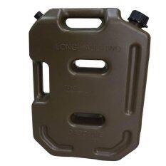 ราคา ถังน้ำมันสำรอง ขนาด 10 ลิตร แบบพกพา สีเขียว Plastic Jerry Cans 10L Green Color ใหม่ล่าสุด