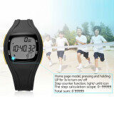 โปรโมชั่น The High Quality Ttlife Children S Primary Sch**l Students Colorful Sports Digital Pedometer Waterproof Luminous Watch Black