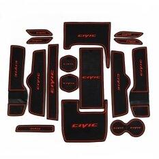 ซื้อ The Ten Generation Of Honda Civic Gate Slot Pad Storage Box Mat Red Pc16 Intl Unbranded Generic เป็นต้นฉบับ