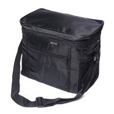 ขาย ซื้อ Thermal Outdoor Cooler Lunch Box Insulated Picnic Bag Camping Hiking Portable Black จีน