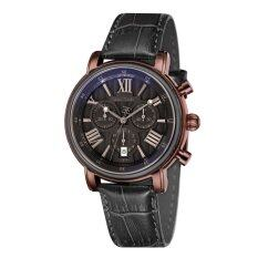 ขาย Thomas Earnshaw Longcase 43Mm Es 0016 08 Men S Black Genuine Leather Strap Watch เป็นต้นฉบับ