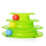 ส่วนลด Three Levels Tower Disc Cat Pet Toy Intelligence Amusement Rides Shelf