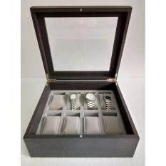 ซื้อ Tidy Gift กล่องนาฬิกา กล่องนาฬิกาข้อมือ กล่องนาฬิกาไม้ กล่องใส่นาฬิกา 8 เรือน 8 Watch Box Wcb 08 01G Wenge Effect 5080 ออนไลน์