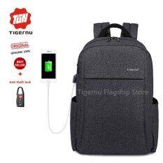ทบทวน Tigernu 2017 Anti Thief With Usb Charging Port Laptop Backpack Fit For 12 15 6 Inches Laptop 3221 Intl