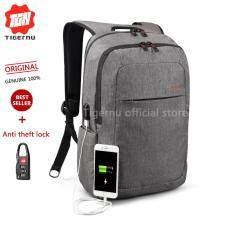ส่วนลด Tigernu Anti Thief Backpack With External Usb Charging Interface For12 15Inches Laptop3090 Grey Intl Tigernu
