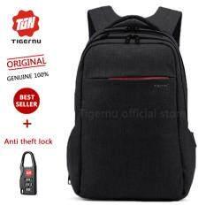 ซื้อ Tigernu 2018 กระเป๋าเป้สะพายหลังใส่คอมพิวเตอร์โน๊ตบุ้ค ดำ ออนไลน์ ถูก