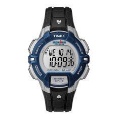 ทบทวน Timex นาฬิกาข้อมือ Ironman 30 Lap Rugged Mid Size รุ่น T5K810 Blue Black