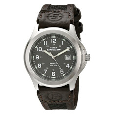 ขาย Timex Men S T40091 Expedition Metal Field Brown Nylon And Leather Strap Watch Intl ออนไลน์ เกาหลีใต้