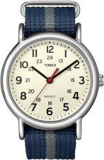 ซื้อ Timex นาฬิกาข้อมือ Weekender สายไนล่อน รุ่น T2N654 ใหม่ล่าสุด