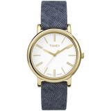 ราคา Timex นาฬิกา รุ่น Originals Linen Small Blue เป็นต้นฉบับ