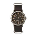ซื้อ Timex นาฬิกาข้อมือผู้ชาย รุ่น Oversized Vintage Style Watch Tw2P85800 สีดำ ออนไลน์
