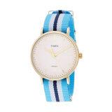 Timex นาฬิกาข้อมือผู้หญิง รุ่น Tw2P91000 Fairfield Full Size สี Powder Blue น้ำเงิน เป็นต้นฉบับ