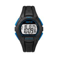 ขาย Timex นาฬิกาข้อมือผู้ชาย รุ่น Tw5K93900 Ironman Essentials 10 Lap Full Blck Blue สีดำ Timex ใน ไทย