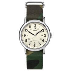 Timex นาฬิกา รุ่น Weekender™ Camo Green เป็นต้นฉบับ
