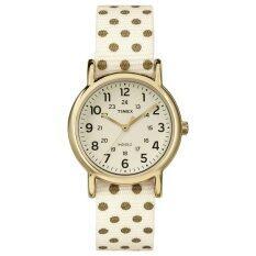 ราคา Timex นาฬิกา รุ่น Weekender™ Dots Small Cream ที่สุด