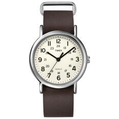 ขาย Timex นาฬิกา รุ่น Weekender™ Leather Brown ถูก ไทย