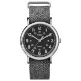 ราคา Timex นาฬิกา รุ่น Weekender™ Tweed Black Timex ใหม่