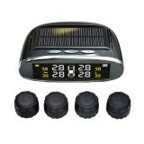 Tire Pressure Monitoring System Solar Wireless Tpms With Lcd Color Display 4 External Sensors Intl ใหม่ล่าสุด