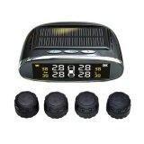 ขาย Tire Pressure Monitoring System Solar Wireless Tpms With Lcd Color Display 4 External Sensors Intl จีน