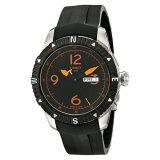 ซื้อ Tissot Men S T Navigator Black Orange Dial Black Rubber Strap Dateday Automatic Watch T062 430 17 057 01 Intl ถูก ใน Thailand