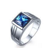 ขาย Titanium Steel Blue Rhineston Steel Color Ring For Men Great For Gifts Unbranded Generic ผู้ค้าส่ง