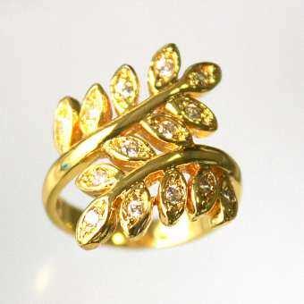 แหวนใบมะกอก TK-219-