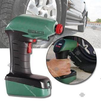 TML เครื่องเติมลมยางอัตโนมัติ ปั๊มลมไฟฟ้า ตัดอัตโนมัติ Air Dragon Digital Portable Air Compressor Car Pump 12V