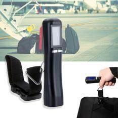 ขาย Tml เครื่องชั่งน้ำหนัก เครื่องชั่งกระเป๋า ดิจิตอล แบบพกพา Electronic Lcd Luggage Scale 40Kg 10G Black กรุงเทพมหานคร