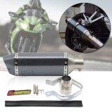 ซื้อ Tml ท่อสูตร ท่อไอเสียรถจักรยานยนต์ มอไซค์ ท่อคาร์บอน ปลายท่อทรงรีลายเคฟล่า รุ่น Mte202 Io ถูก