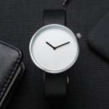 ซื้อ Tomi Fashion Casual Men S Rounded Bussines Retro Design Leather Band Watch Intl ใหม่