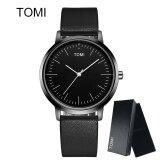 ขาย Tomi New Top Brand Luxury Women Watch นาฬิกาข้อมือ Men Watch นาฬิกาข้อมือ Es Famous Wristwatch นาฬิกาข้อมือ Ultra Thin Dial Male Clock Quartz Watch นาฬิกาข้อมือ T060 ออนไลน์ จีน