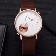 โปรโมชั่น Tomi นาฬิกา กันน้ำ Quartz Analog รุ่น T079 Brown Rose Gold Tomi ใหม่ล่าสุด