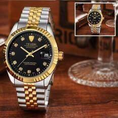 ราคา Top Brand Luxury Waterproof Automatic Watch Men Mechanical Watch Luminous Sport Casual Watch Relogio Automatico Masculino Tevise Black Intl Tevise ใหม่