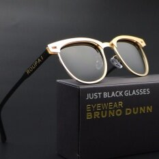 ราคา ผู้หญิงแบรนด์ยอดนิยมแว่นตากันแดด 2017 แว่นตาโพลาไรซ์ Hd 0911 เลนส์สีทองเลนส์สีเทา ใหม่