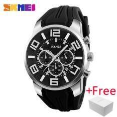 ซื้อ Top Fashion Brand Luxury Skmei Watch นาฬิกาข้อมือ Es Men Watch นาฬิกาข้อมือ Casual Quartz Wristwatch นาฬิกาข้อมือ Waterproof Female Clock For 9128 Skmei